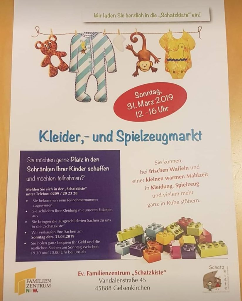Flyer Kindertrödelmarkt